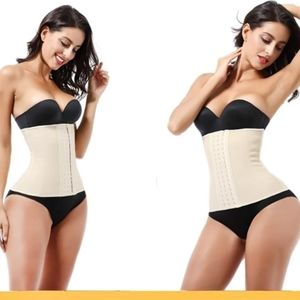 9 BONES GENUINE LATEX WAIST TRAINER CORSET